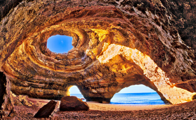 Portugal Benagil Kathedrale Algarve
