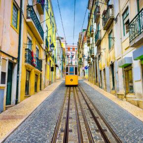 Lissabon: 4 Tage Städtetrip mit zentralem 3* Hotel inkl. Frühstück & Flug nur 94€