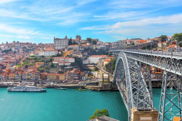 Portugal Porto Altstadt Dom Panorama