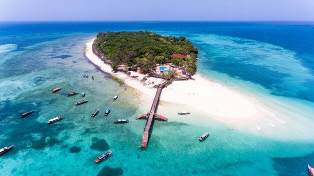 Sansibar Kleine Insel