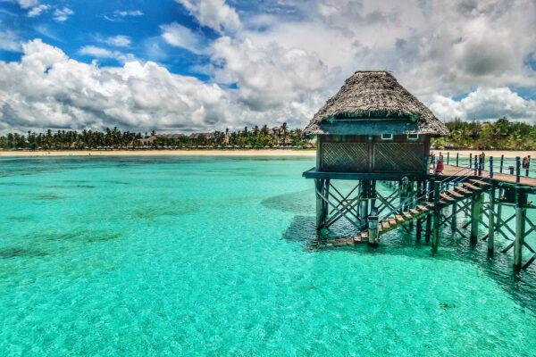 Sansibar Wasserhütte