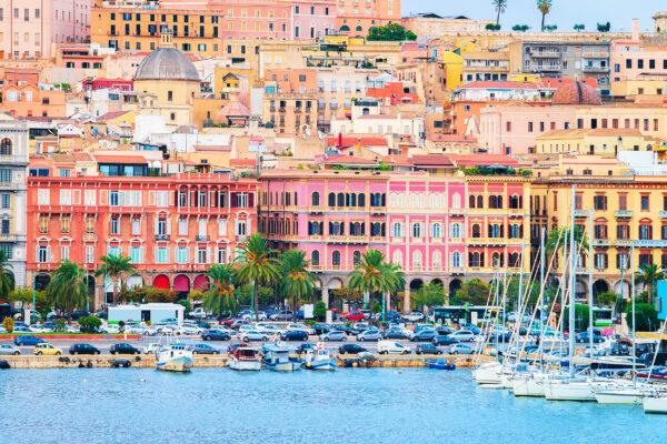 Sardinien Cagliari Panorama