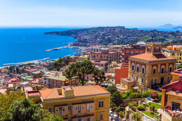 Italien Neapel Panoramablick