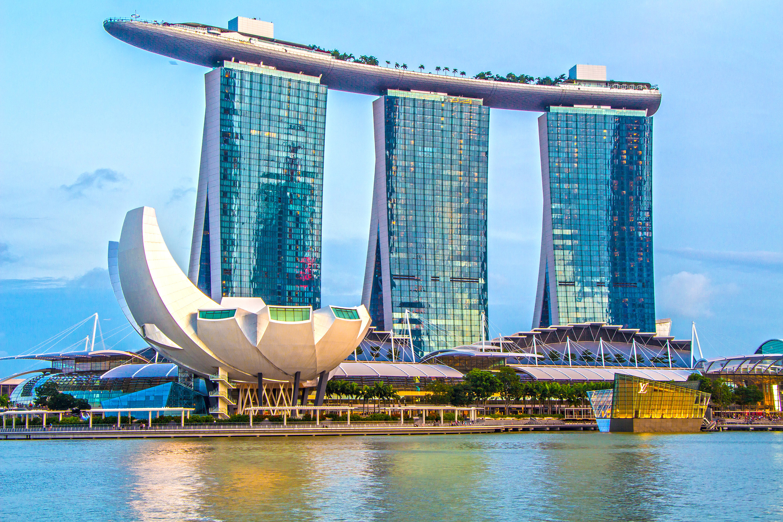 Award Hotel 7 Tage Im Luxuriosen 5 Marina Bay Sands In Singapur