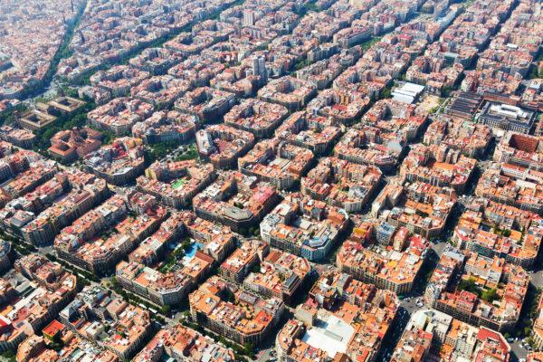 Spanien Barcelona Blocks