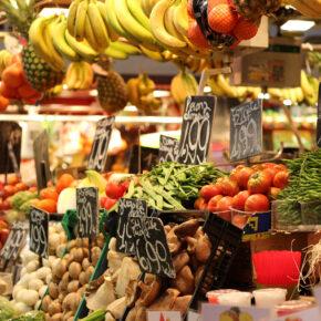 Spanien Barcelona Markt