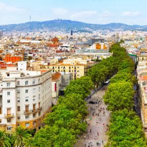 Spanien Barcelona Rambla