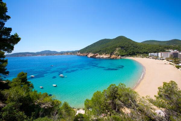 Spanien Ibiza San Vicente Strand