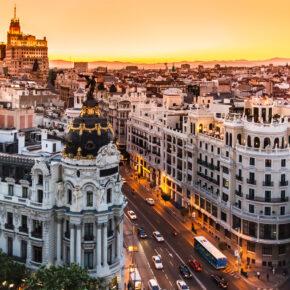 Wochenende in Spanien: 3 Tage im 3* Hotel in Madrid inklusive Flug für 81€