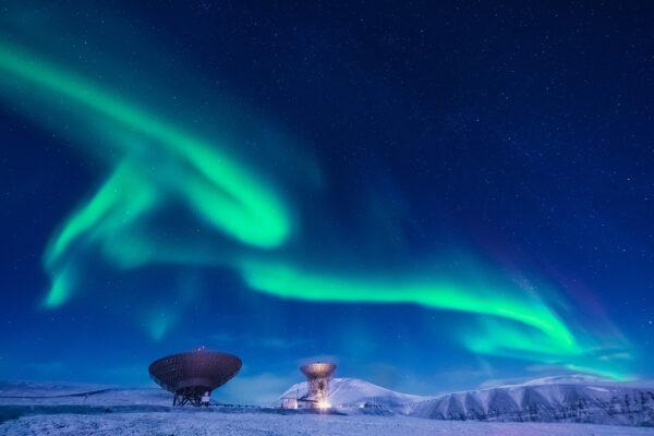 Spitzbergen Polarlichter