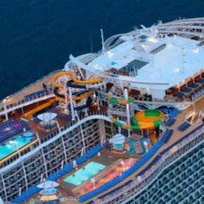 Symphony of the Seas Deck