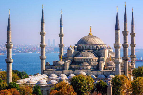 Türkei Istanbul Blue Mosque