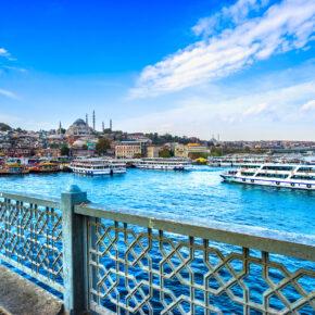 Langes Wochenende: 4 Tage in Istanbul im TOP 5* Hotel mit Flug nur 213€