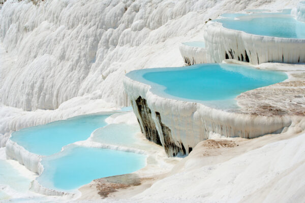 Türkei Pamukkale Travertine