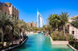 Dubai: 6 Tage im TOP 4* Hotel mit All Inclusive Plus, Transfer, Zug & Flug nur 487€