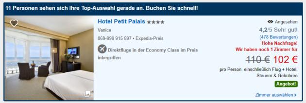 Petit Palace Deal