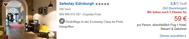 3 Tage Edinburgh