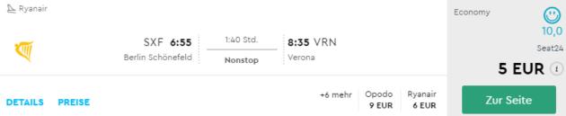 Verona Flüge