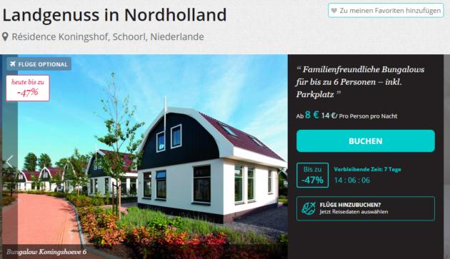 Niederlande Schnäppchen