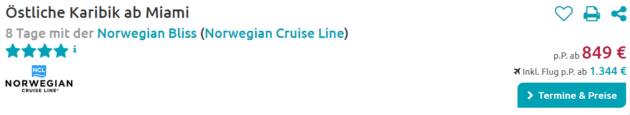 8 Tage Norwegian Bliss