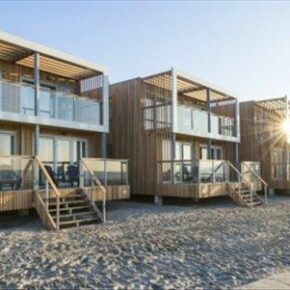 Stylische Beach-Villa in Südholland: 8 Tage Nordsee in Hoek van Holland ab 98€