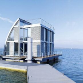 4 Tage im schwimmenden Ferienhaus in Oberlausitz nur 157€