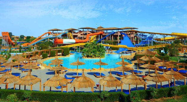 Ägypten Jungle Aqua Park Rutschen
