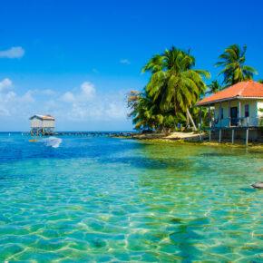 Belize Bungalow Insel