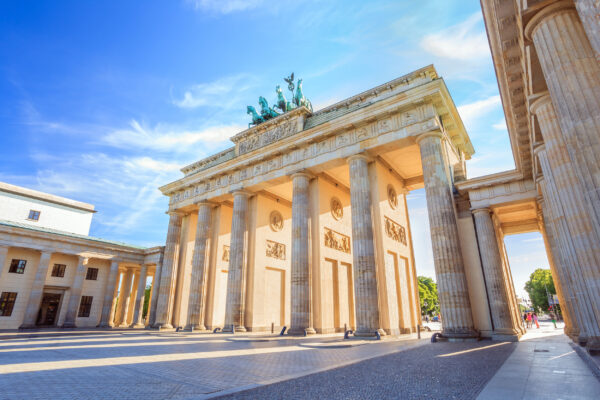 Berlin Brandenburger Tor Sonnenschein