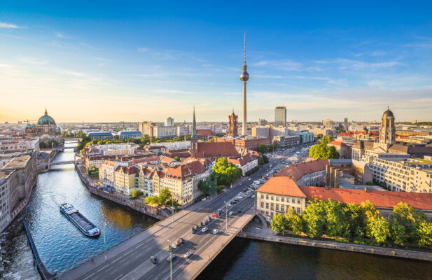 Berlin Skyline Spree