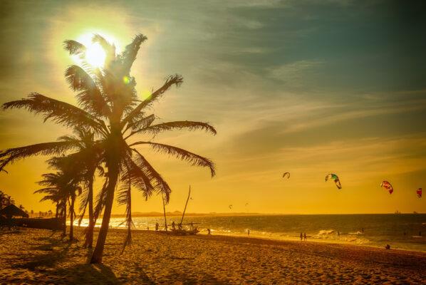 Brasilien Praia de Cumbuco Fortaleza Ceara