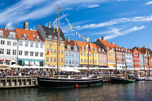 Dänemark Kopenhagen Nyhavn