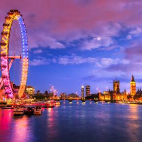 Luxus im Londoner Stadtzentrum: 3 Tage im TOP 5* Hotel mit Frühstück, Flug & Extras ab nur 209€