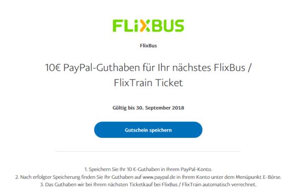 Paypal Flixbus