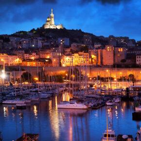 Langes Wochenende in Frankreich: 4 Tage Marseille mit Apartment & Flug nur 80€