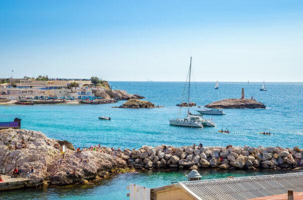 Frankreich Marseille Küste