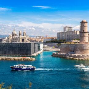 Frankreich Marseille Saint Jean Schloss