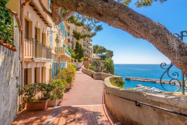 Frankreich Monaco Monte Carlo Dorf