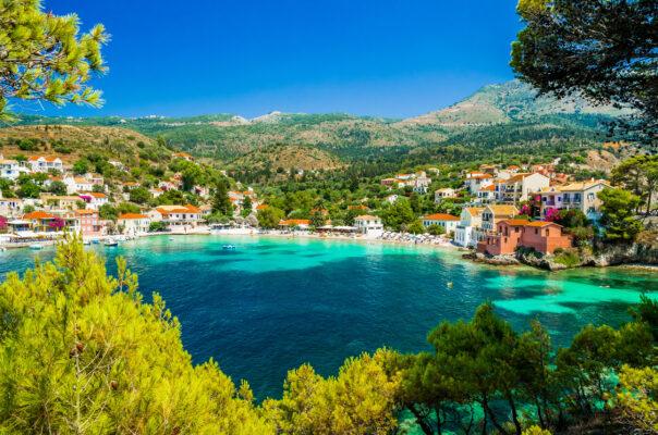 Griechenland Kefalonia Assis Dorf