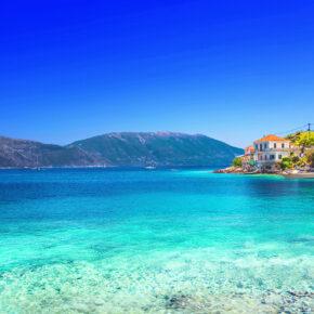 Frühbucher Griechenland: 8 Tage auf Kefalonia mit TOP Hotel & Flug nur 145€