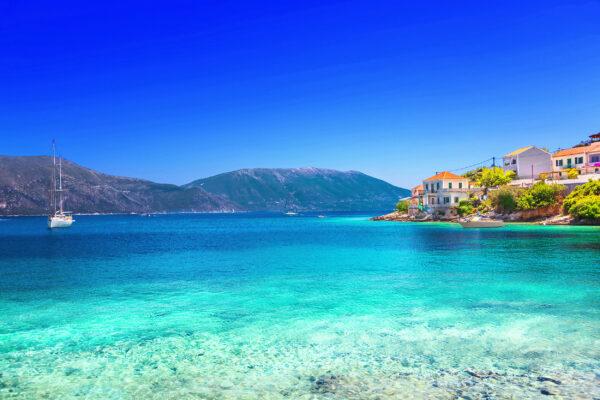 Griechenland Kefalonia Fiskardo