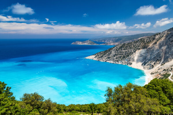 Griechenland kefalonia Myrtos Ausblick
