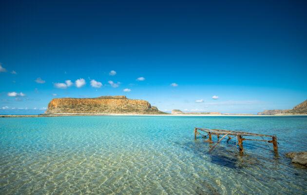Griechenland Kreta Gramvousa Insel