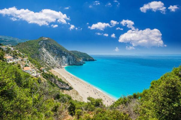 Griechenland Lefkada Milos Agios Nikitas