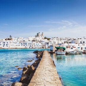 Lastminute Griechenland: 7 Tage Paros im TOP Hotel mit Flug nur 92€