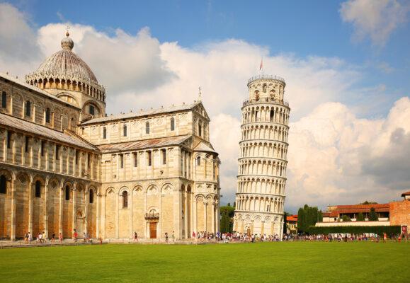 Italien Pisa Schiefer Turm