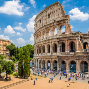 Italien Rom Kolosseum Touris