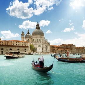 Wochenende in Venedig: 3 Tage Städtetrip mit tollem 4* Hotel, Frühstück & Flug nur 93€