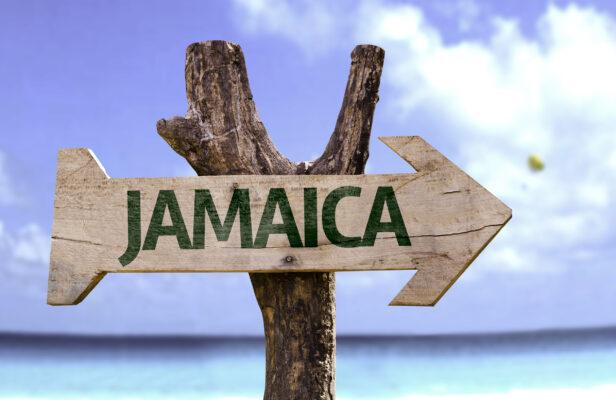 Jamaika Schild