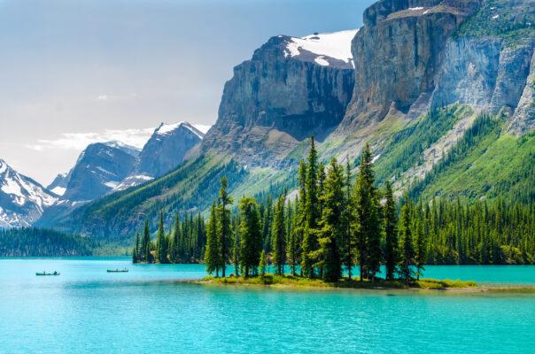 Kanada Bergsee
